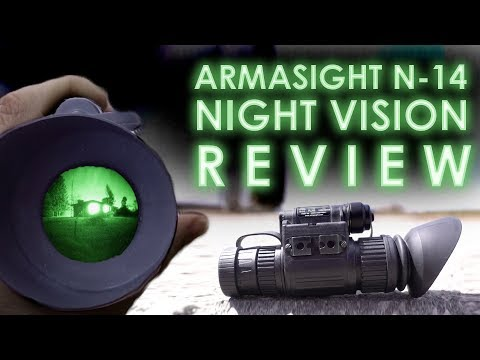 Armasight N-14 Nightvision Monocular Review