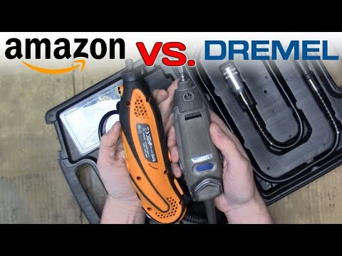 Dremel vs. Amazon Tacklife – Hand Rotary Tools