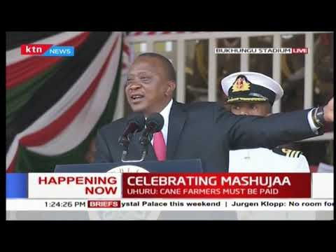 Uhuru Kenyatta: President Uhuru Kenyatta warns CS at Mashujaa day celebrations [Video]