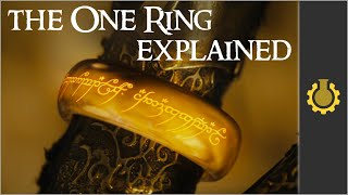 The One Ring Explained. (Lord of the Rings Mythology Part 2)