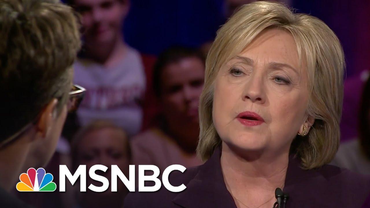 Hillary Clinton: South Carolina School Incident 'Appalling'   Democratic Forum   MSNBC thumbnail