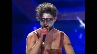 Canta una canción de RAMMSTEIN en un concurso de TALENTOS, y deja a todos en pie !!!!