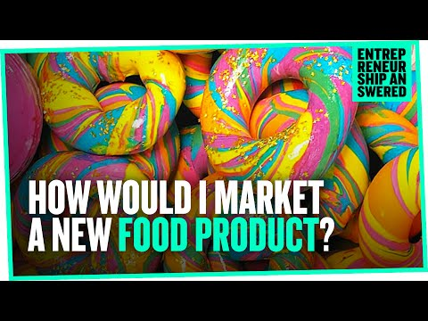 , title : 'How Would I Market a New Food Product?