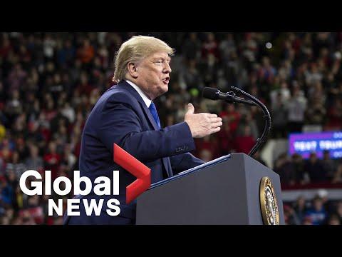 "Donald Trump hosts ""Keep America Great"" rally in Milwaukee, Wis."