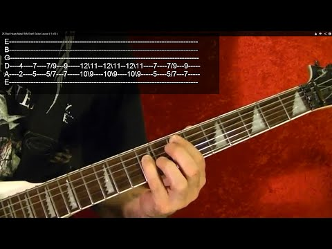 POWER CHORDS (HEAVY METAL) for Beginners - Guitar Lesson