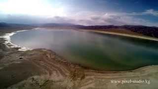 Иссык-Куль с высоты птичьего полета, 2014