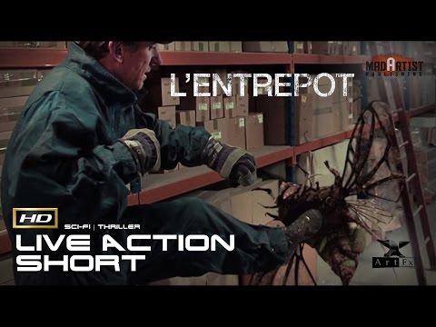 "Live Action CGI VFX Animated Short ""L'ENTREPORT"" Thrilling Sci-Fi Film by ArtFx"