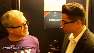 """Freddie Roach """"I knew Matthysse would quit, he was fading,  he wasn't as aggressive"""""""