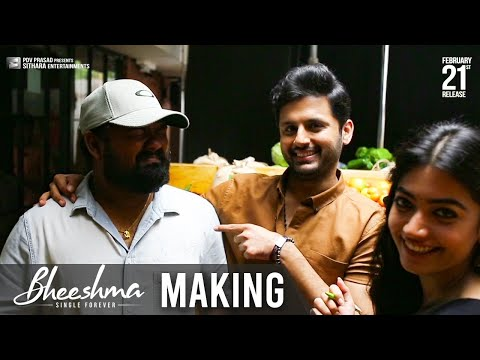 bheeshma-movie-making