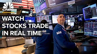 Watch stocks trade in real time as futures point to a second day of gain – 3/20/2020