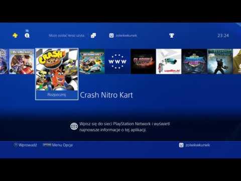 VIDEO] zolwikwkurwik: Crash Nitro Kart (PS2 on PS4