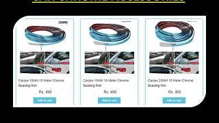 Buy CAR CHROME ACCESSORIES Online