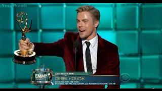 Derek Hough wins an Emmy