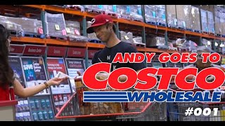 ANDY GOES TO COSTCO: SUPER BOWL SHOPPING