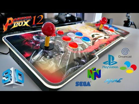 Pandora Box 3D 12S - Multi-player Arcade Game Console / 3333 Games - Any Good?
