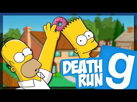 THE SIMPSONS! (GMOD Death Run) #3 // IXAJR