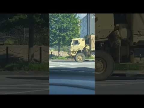 Atlanta Militarizing Into Martial Law