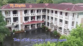 Toàn Cảnh Huyện Vị Xuyên, Hà Giang Nhìn Từ Trên Cao