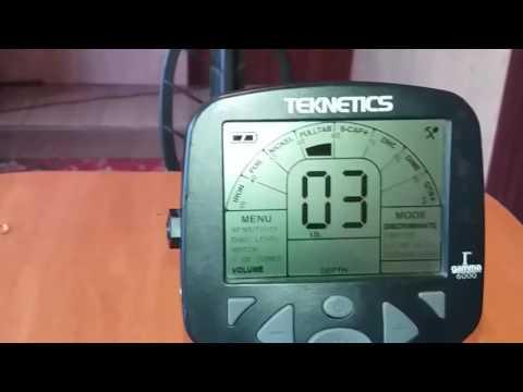 Обзор металлоискателя Teknetics Gamma 6000 Overview detector Teknetics Gamma 6000