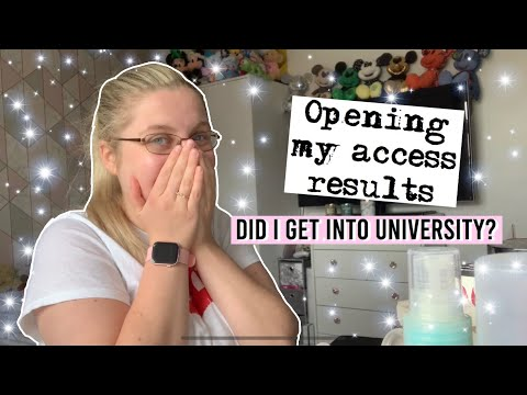 OPENING MY ACCESS TO HE RESULTS! | Claire Louise