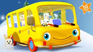🚍 The Bus Song for Kids 🚌 Nursery Rhymes & Baby Songs