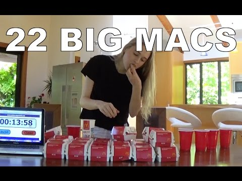 Eating 22 Big Macs in One Sitting!