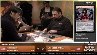 Pro Tour Oath of the Gatewatch Semifinals: Luis Scott-Vargas vs. Jaichen Tao