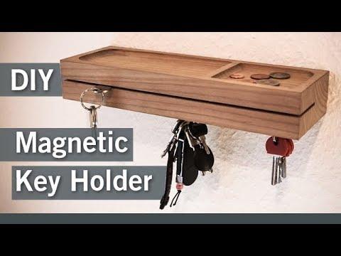 DIY - Magnetisches Schlüsselbrett / Magnetic Key Holder
