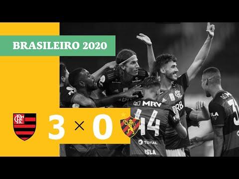Flamengo 3-0 Sport (Campeonato Brasileiro 2020) (H...
