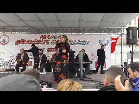 Bursa Yenişehir Trabzonlular Derneği 1.Hamsi Festivali Cemile Kara Otantik Şarkılar