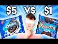 Name Brand vs Zero Budget Blind Taste Test