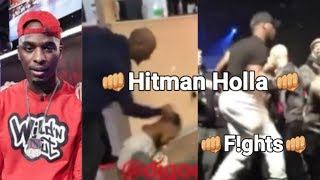 Hitman Holla (all f!ghts)👊 compilation