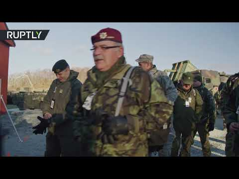 OSCE observers attend NATO's Trident Juncture drills