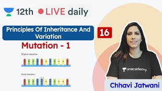 CBSE Class 12: Principles of Inheritance & Variation L16 | Unacademy Class 11 & 12 | Chhavi - Download this Video in MP3, M4A, WEBM, MP4, 3GP
