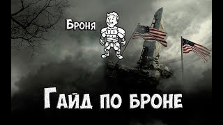 Fallout 76 - Всё про броню