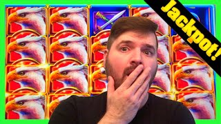 My FIRST JACKPOT HAND PAY At Hard Rock Casino! MASSIVE WIN on Griffin's Throne W/ SDGuy1234