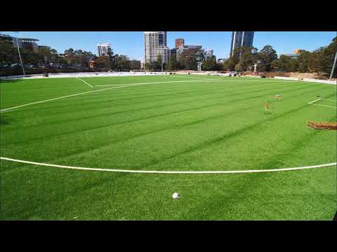 Gore Hill Oval Redevelopment Progress - Synthetic Turf