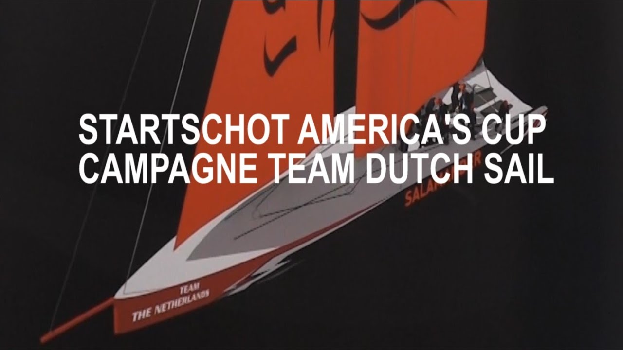 AMERICA'S CUP START TEAM DUTCH SAIL