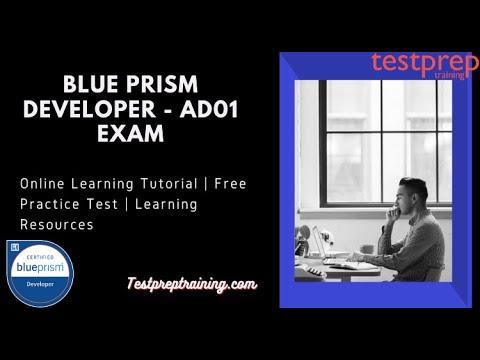 How to prepare for Blue Prism Developer (AD01) exam? - YouTube