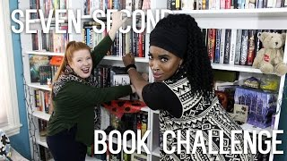 SEVEN SECOND BOOK CHALLENGE W/ CHRISTINA MARIE