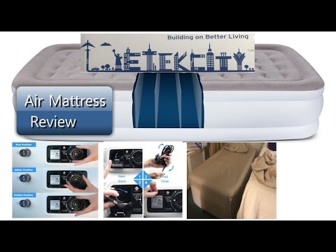 Etekcity Raised Twin Air Mattress EAM-DT1 300 Pound Guy Review