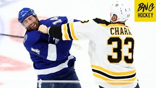 Boston Bruins Best Fights 2019-20 Season