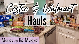 WEEKLY WALMART GROCERY HAUL | MONTHLY COSTCO HAUL | MANDY IN THE MAKING