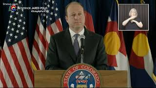 WATCH LIVE: Colorado Governor Jared Polis provides an update on the state's COVID-19 response