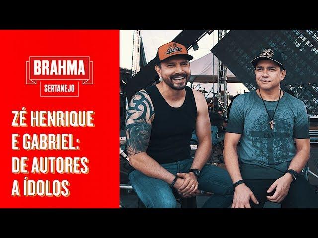 ZÉ HENRIQUE E GABRIEL SENDO ÍDOLOS