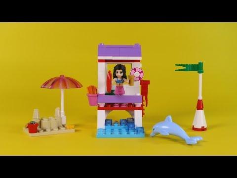 Vidéo LEGO Friends 41028 : Le poste de sauvetage d'Emma
