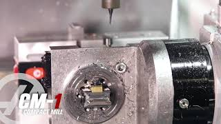 small machine with 5 axis full capability