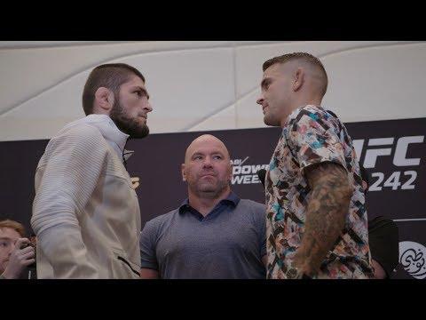Le face à face de l'UFC 242