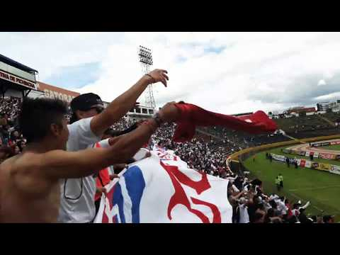 """LIGA DE QUITO (3) VS IDV (2) - MUERTE BLANCA ES CARNAVAL FESTEJO DE LA HINCHADA"" Barra: Muerte Blanca • Club: LDU"