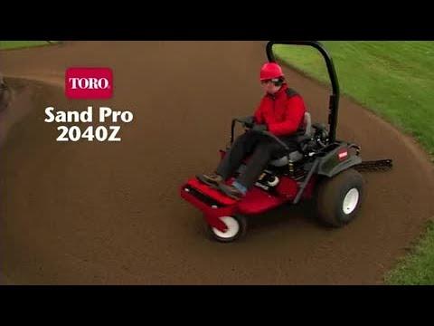 Toro® Sand Pro® 2040Z Bunker Rake